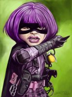 HIT GIRL by JaumeCullell