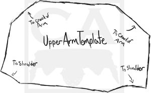 Upper Arm Template by Traumagician