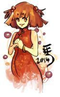 Happy Chinese New Year 2014 by amyanimalover