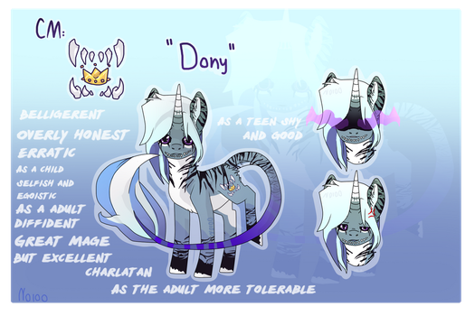 DONY |Fullbody reference SHEET | by Noioo