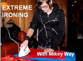 Extreme ironing with mikey way by wherethefalloutlies