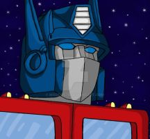 Optimus Prime by maddog78