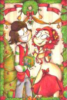 Under the Mistletoe... by elixirXsczjX13