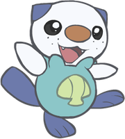 501. Oshawott by HappyCrumble