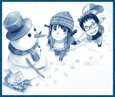 """I found a Snowman"" by jedski"