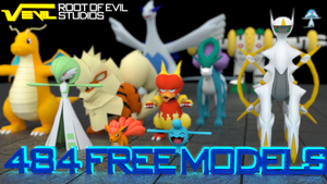 Free Pokemon 3D Models! by TheModerator