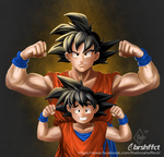 Father and son by pachaline