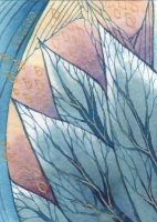 Leaves or Trees? ATC:ACEO by JLGribble