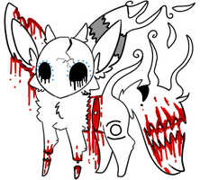 Bloody murder OFFER TO ADOPT [SOLD] by Angels-Adoptables