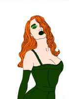 Poison Ivy~1950's Glamour! by Comicbookguy54321
