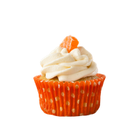 Orange Cupcake by bubupoodle