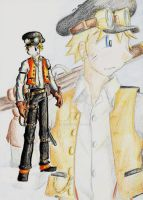Steampunk Naruto by LordCavendish