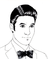 Darren Criss Portraits Cont. by lunatic-nymphet