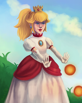 Fire Peach by Buubblees