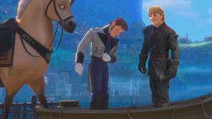 Disney's Frozen Prince Hans meets Kristoff by cdpetee