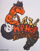 Equs ft. Hip-Hop Equino Graff. by Lorfis-Aniu