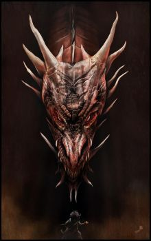 Smaug And The Thief by AndyFairhurst