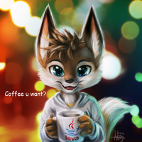 Coffee u want? by thanshuhai