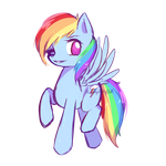 Dashie Doodle by ALilAngelKitty
