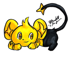 Shiny Shinx-y by BunniiChan