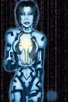 Cortana With Index - REVISITED by HaloGoddess1