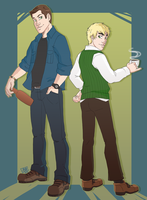 Contest Prize: Dean and Arthur by GI-Ace