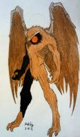 Mothman armour by Pearl-Shadow