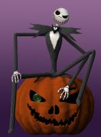 Jack The Pumpkin King by dereus