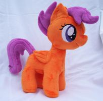 Scootaloo Plushie by Pinkamoone