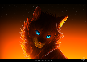 Fire And Flame SPEEDPAINT by RedSunAtDawn