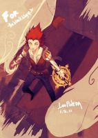 Axel: steampunk by aloisius