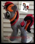 My little pony Plush Commission SPARKLER by CINNAMON-STITCH