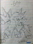 [Drawing] Entei by LuGiAdriel14