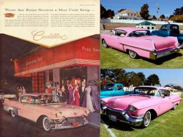Cool car ads 1957 Cadillac by Partywave