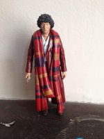 Custom Tom Baker Fourth Doctor by doctorfool
