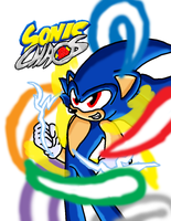 Sonic Chaos Cover (Digital) by AshuraTheHedgehog199