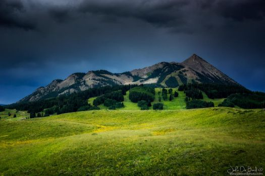 Mount Crested Butte by kkart