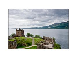 Urquhart Castle by Morween