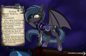 A Lineage of Shadow by DangerCloseArt