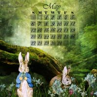 May Calendar by 3punkins