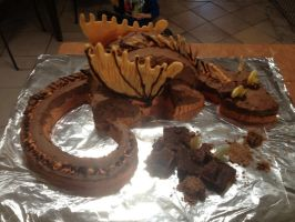 Wings oF FIRE Clay cake by zl6195