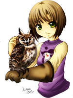 Owl love by Nuna