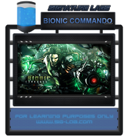 Bionic Commando [PSD] by gabber1991md