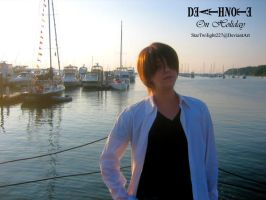 Light Yagami on Holiday by Damek0Masca