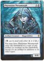 Magic Card Alteration: Phyrexian Metamorph 7/14 by Ondal-the-Fool