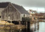 Peggys Cove Fishing Shack by ShawnaMac
