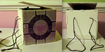 Portal 2: Companion Cube Backpack by RaltheCommentator