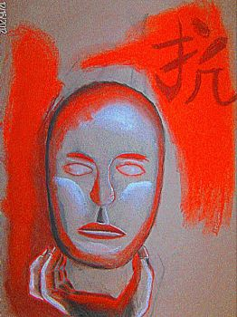 Face And Hand by I-am-number-777