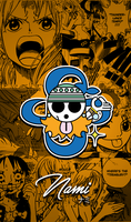 One Piece Wallpapers Mobile : New World , Nami by Fadil089665