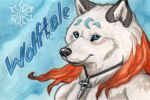 Wolftale Con Badge by Ashalind